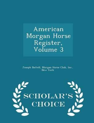 American Morgan Hors...