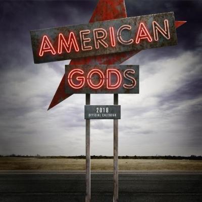 American Gods Official 2018 Calendar - Square Wall Format Calendar