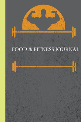 Food Journal With Fitness Men Cover