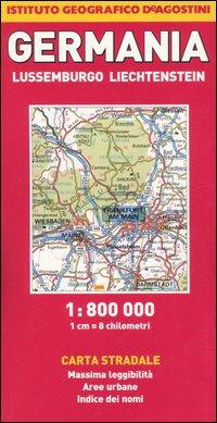 Germania, Lussemburgo, Liechtenstein 1:800