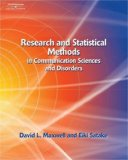 Research and Statistical Methods in Communication Sciences and Disorders
