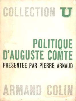 Politique d'Auguste Comte