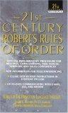21st Century Robert's Rules of Order
