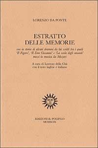 Estratto delle memorie (1819)