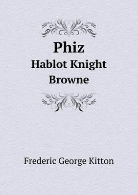 Phiz Hablot Knight Browne