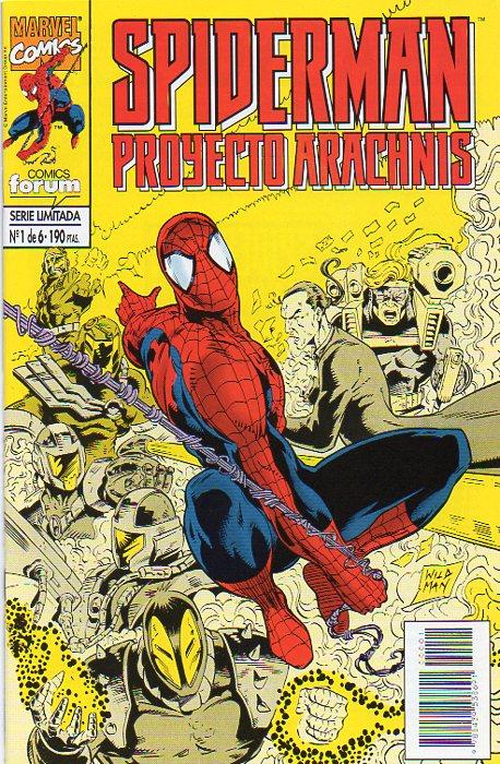Spiderman: Proyecto Arachnis #1 (de 6)