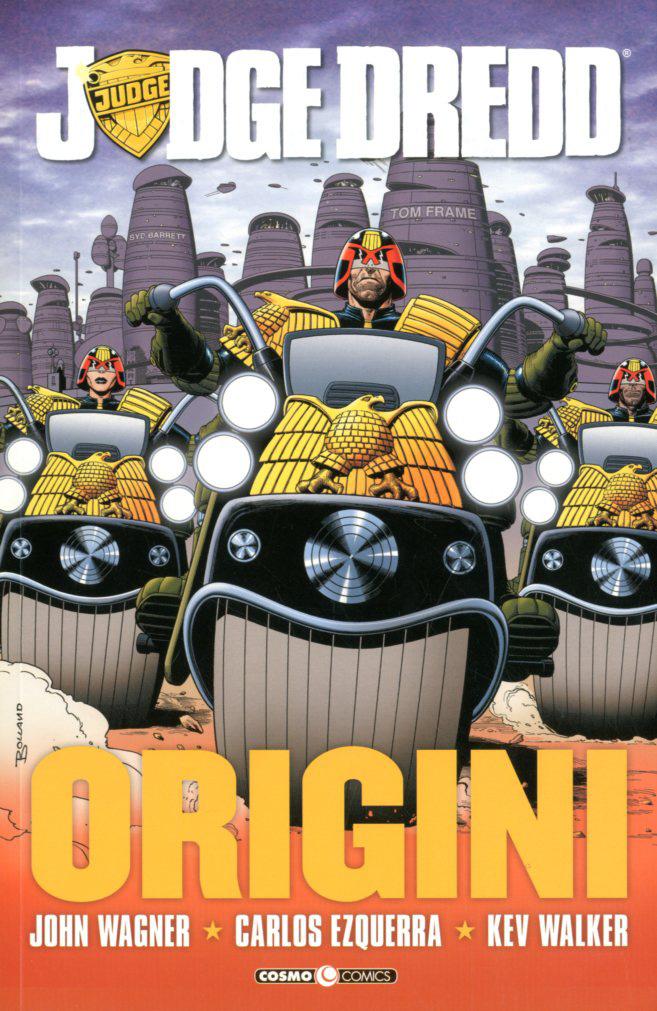 Judge Dredd: Origini