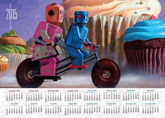 Robots 2014-15 Calendar Poster