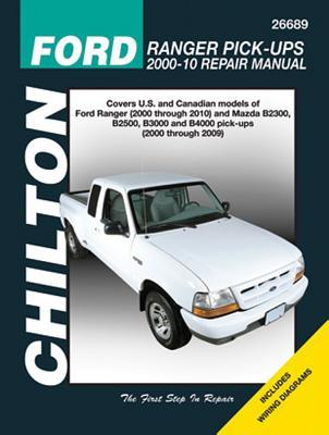 Chilton Ford Ranger Pick-ups Repair Manual 2000-2010