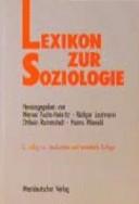 Lexikon der Soziologie