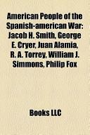 American People of the Spanish-American War