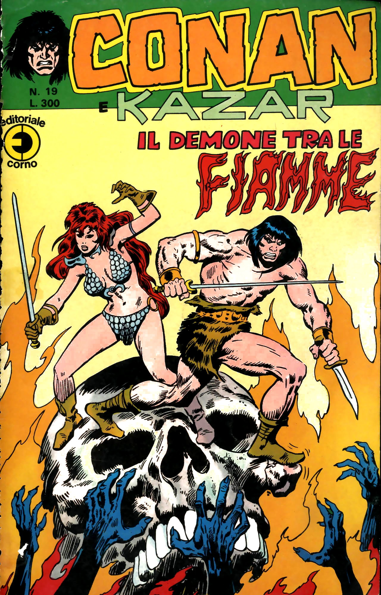Conan e Ka-zar n. 19