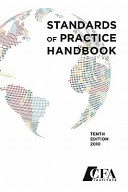 Standards of Practice Handbook, Tenth Edition 2010