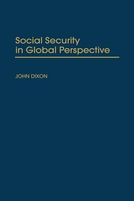 Social Security in Global Perspective