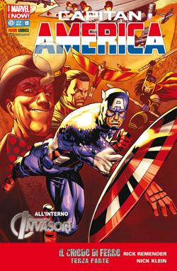 Capitan America #19 Marvel Now!