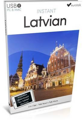 Instant Latvian - USB Course for Beginners