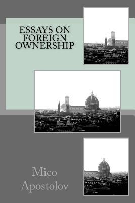 Essays on Foreign Ownership