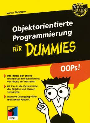 Objektorientierte Programmierung Fur Dummies