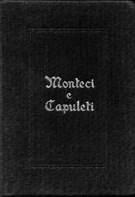 Monteci e Capuleti