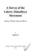 A Survey of the Lahore Ahmadiyya Movement