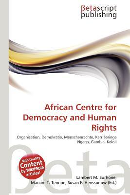 African Centre for Democracy and Human R