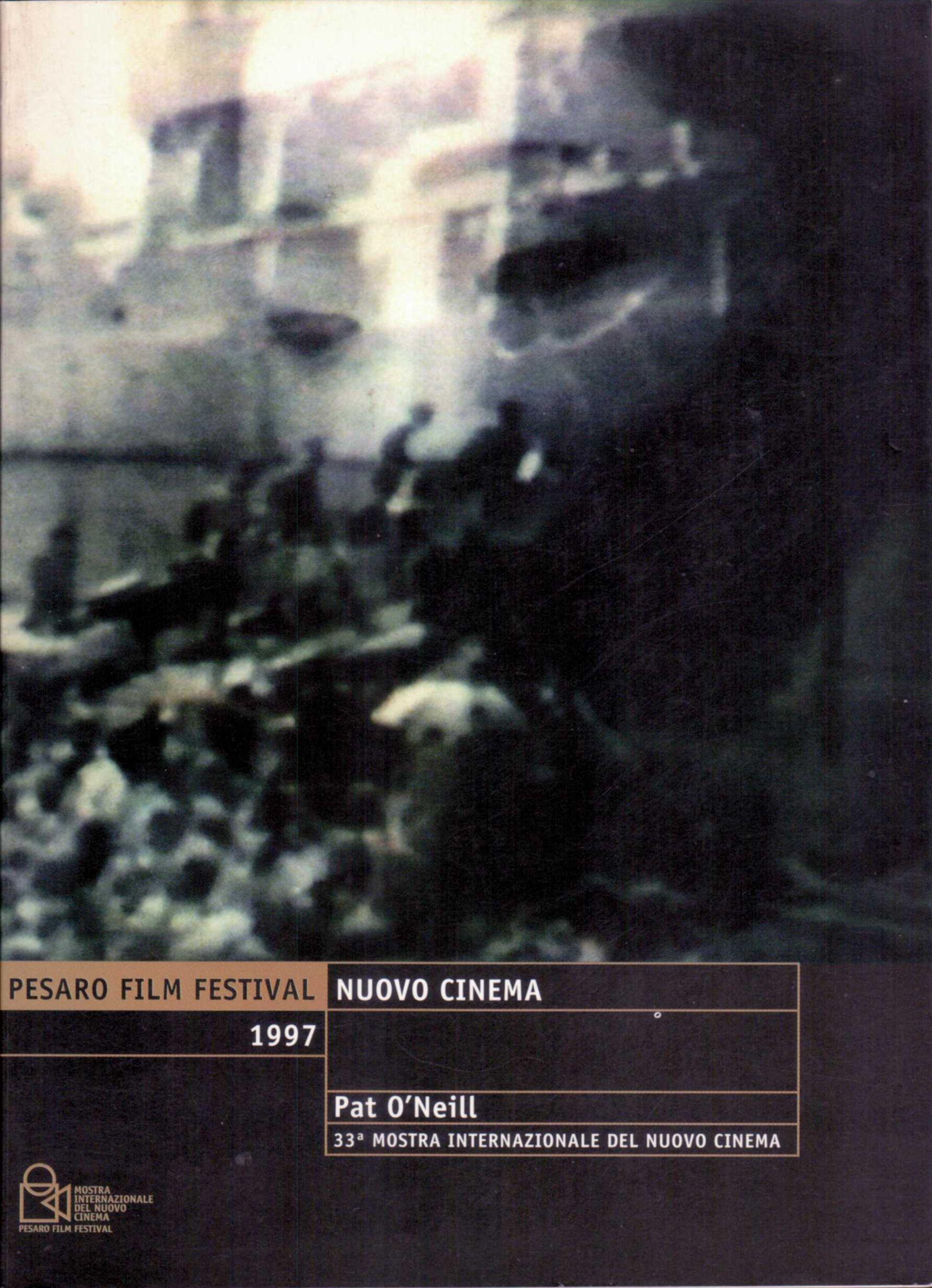 Nuovo cinema. Pat O'Neill