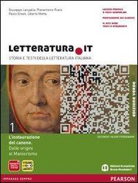 Letteratura.it. Con fascicolo. Edizione verde. Per le Scuole superiori. Con espansione online