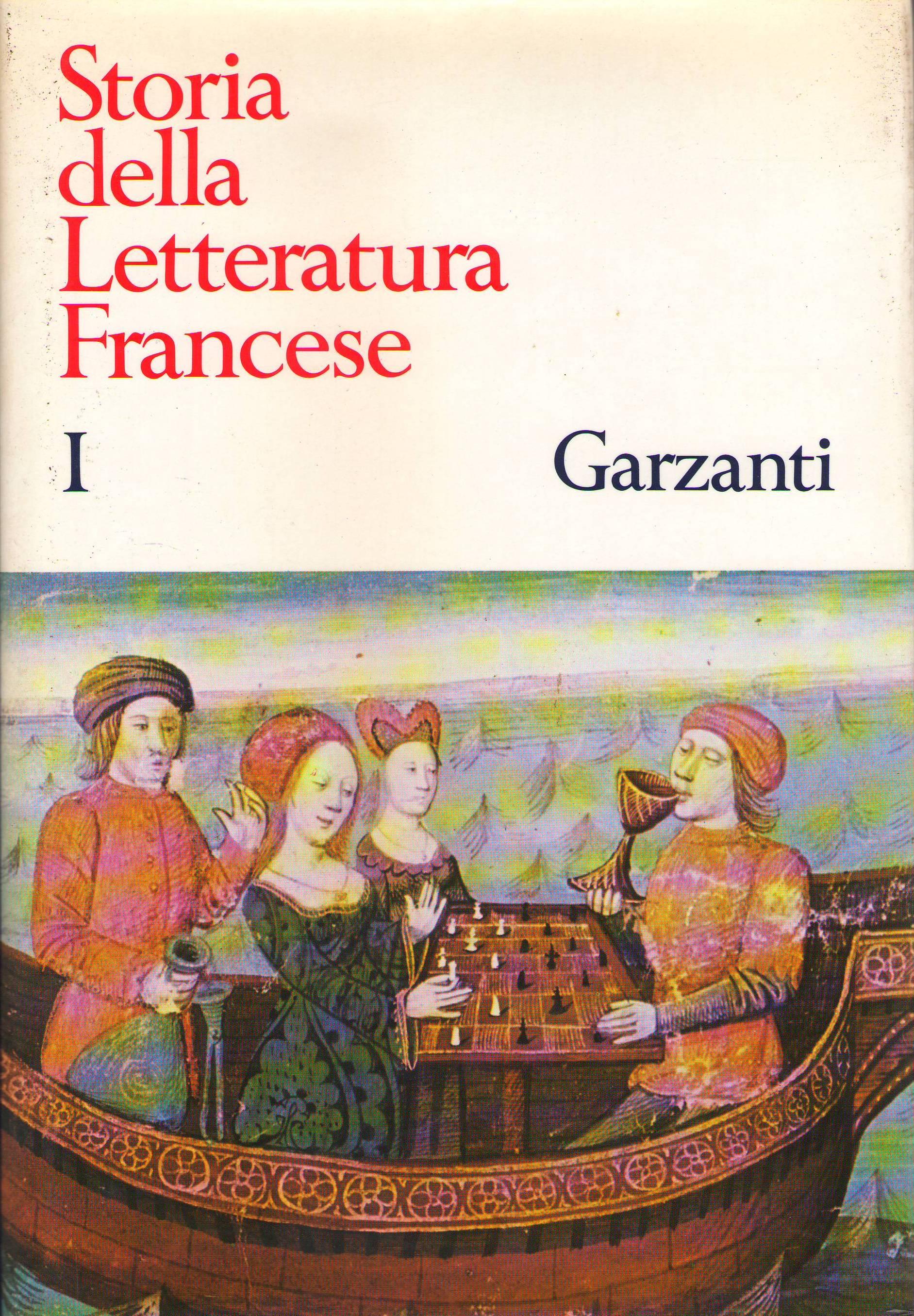 Storia della Letteratura Francese I