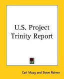 U.S. Project Trinity Report