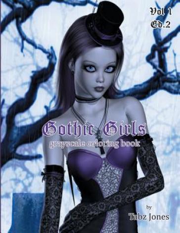 Gothic Girls Graysca...