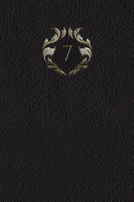 """Monogram """"7"""" Meeting Notebook"""