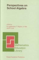 Perspectives on school algebra