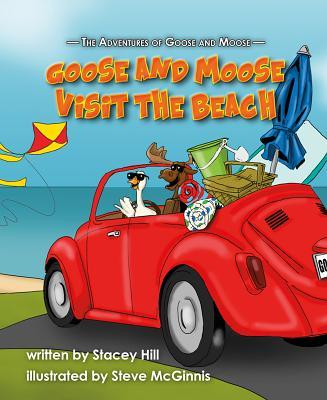 Goose and Moose Visit the Beach
