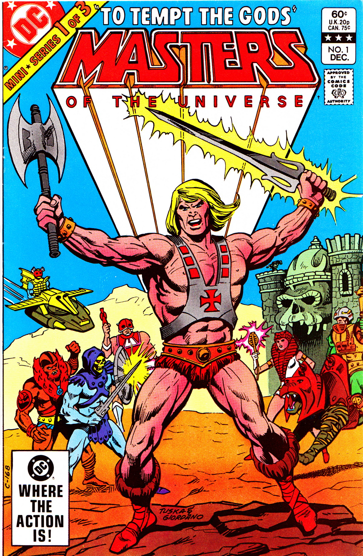 Masters of the Universe Vol.1 #1