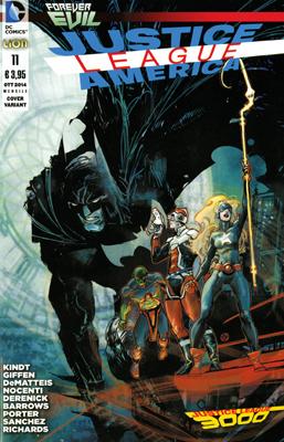 Justice League America n. 11 - Variant