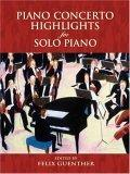 Piano Concerto Highlights for Solo Piano
