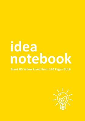 Idea Notebook Blank B5 Yellow Lined