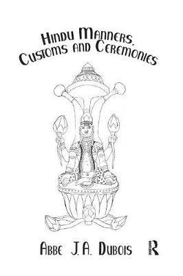 Hindu Manners, Customs & Ceremon