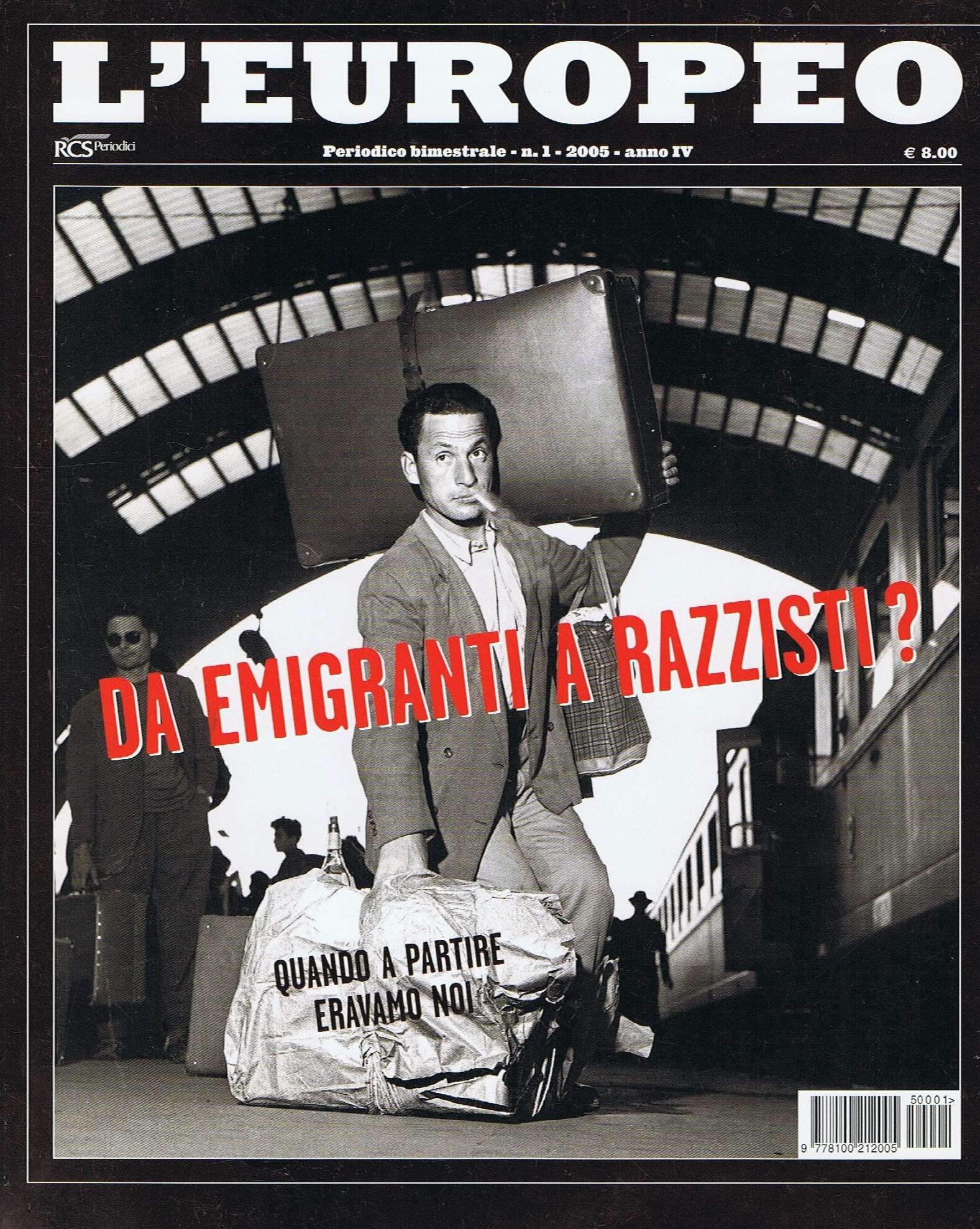 L'Europeo n. 1/2005