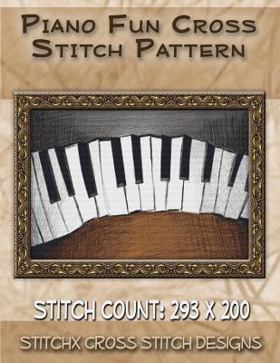 Piano Fun Cross Stitch Pattern