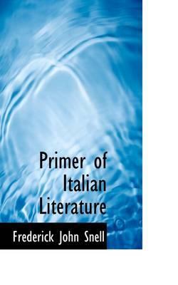 Primer of Italian Literature