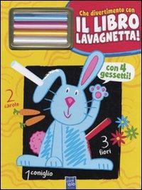 Il coniglio Gildo. Che divertimento con il libro lavagnetta! Con gadget