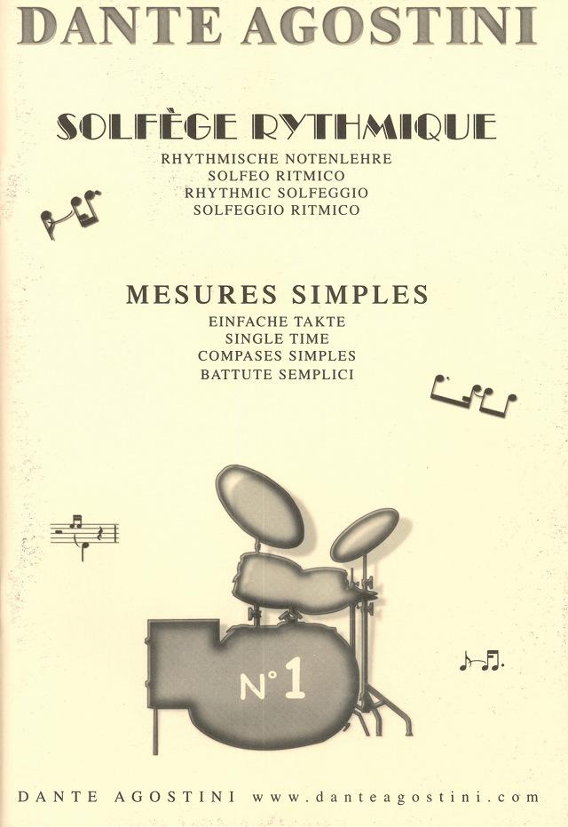 Solfège rythmique, volume 1