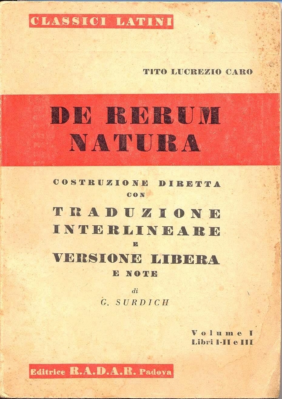 De rerum natura - Vo...