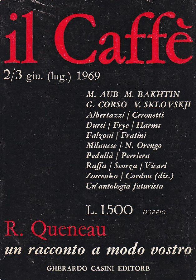 il Caffè letterario e satirico n. 2/3 (1969)