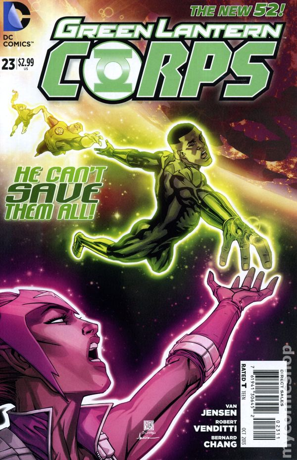 Green Lantern Corps Vol.3 #23