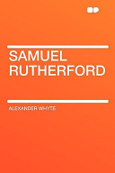 Samuel Rutherford