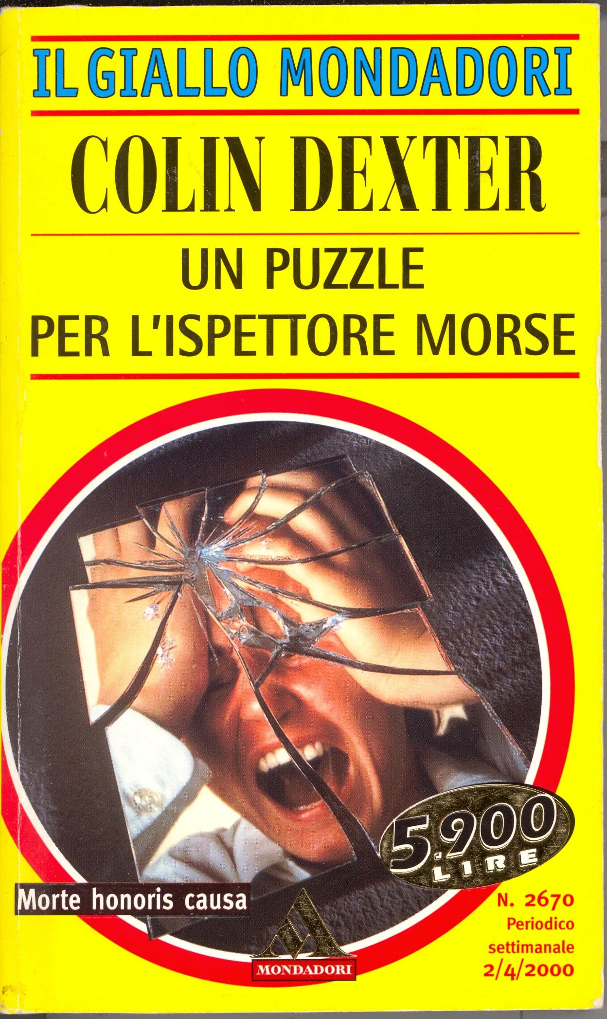 Un puzzle per l'ispettore Morse