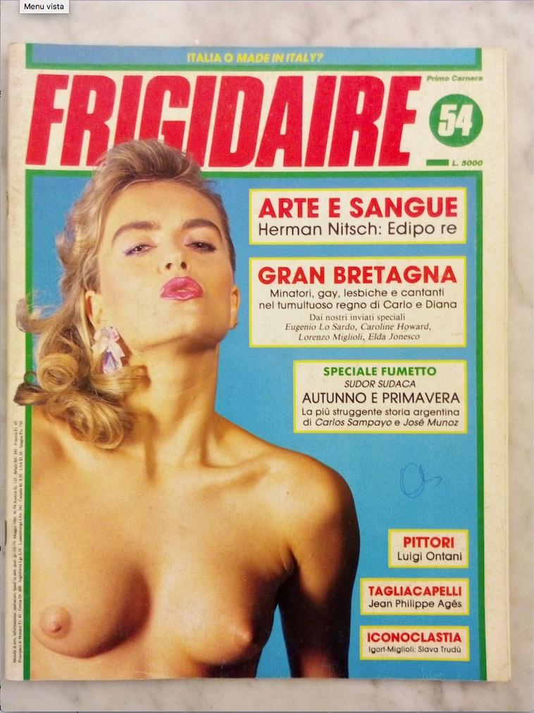 Frigidaire, n. 54 - Maggio 1985