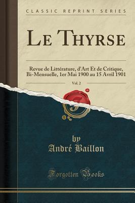 Le Thyrse, Vol. 2